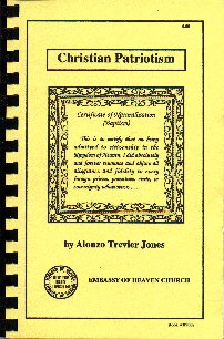 Christian Patriotism book